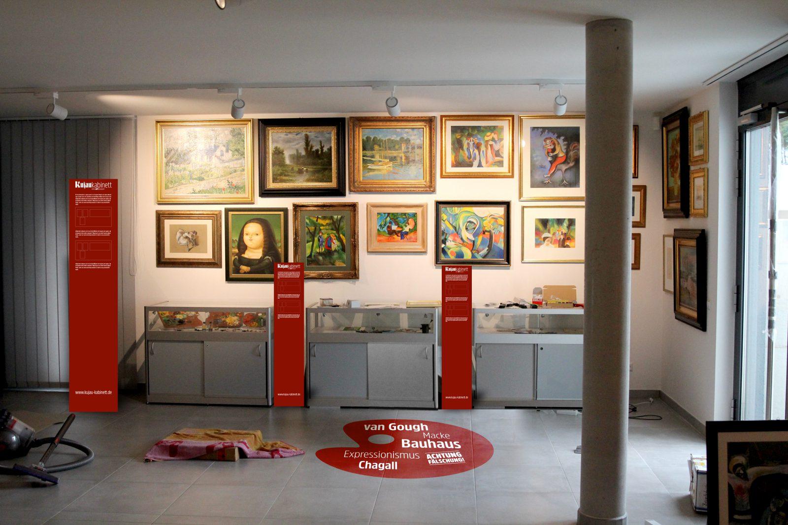 Die Ausstellung, Kujau Kabinett